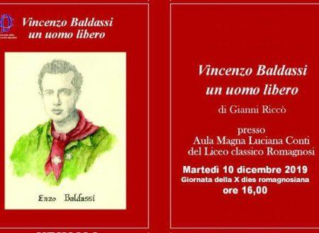 """Presentazione libro """"Enzo Baldassi un uomo libero"""""""