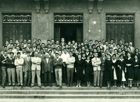 1958 – IIIA,B e C prima dell'esame di maturità e IIIB 60 anni dopo