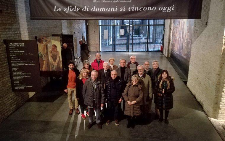 """Gli ex-allievi alla mostra """"I Ricostruttori. La Parma del boom"""""""