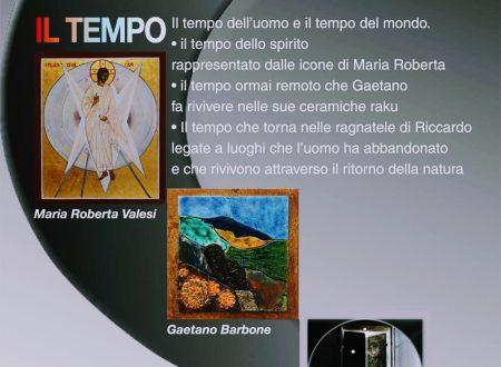Importante mostra sul TEMPO alla quale parteciperà il nostro amico, compagno di  Liceo e artista Gaetano Barbone!